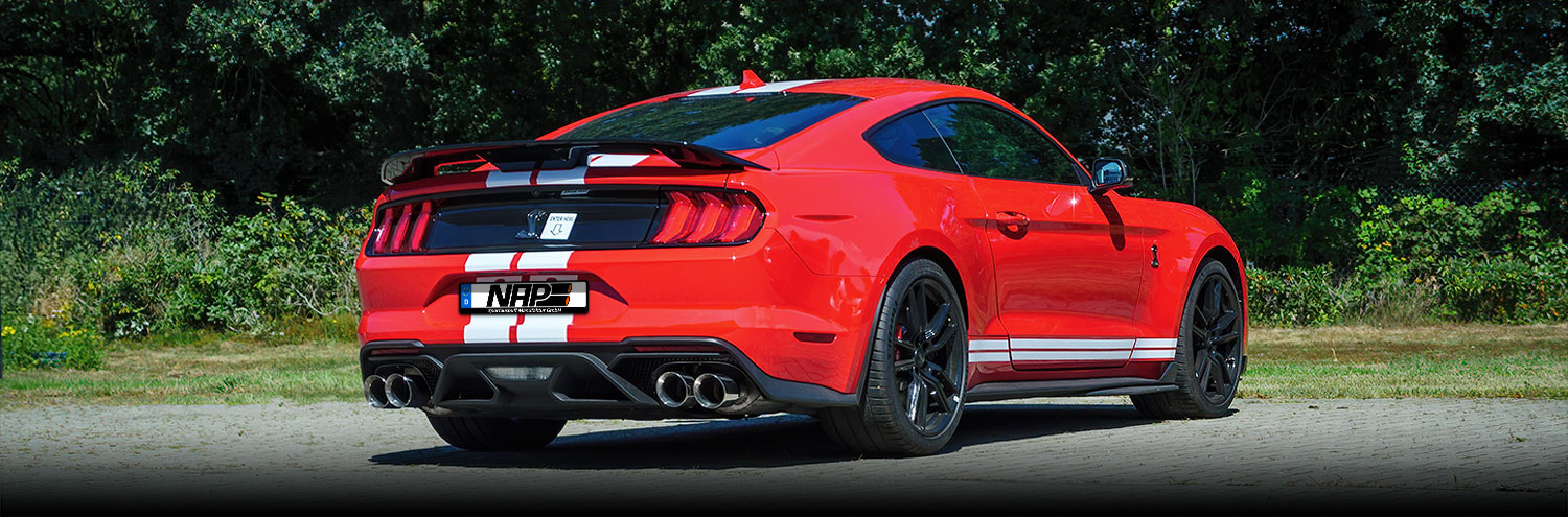 NAP Klappenauspuff Ford Mustang Shelby GT500 web
