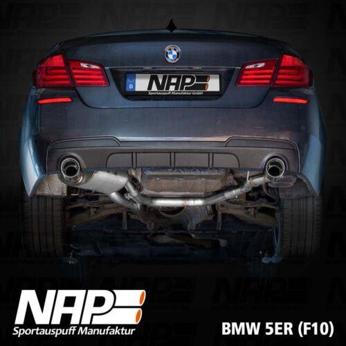 NAP Sportaupuff BMW 5er F10 1