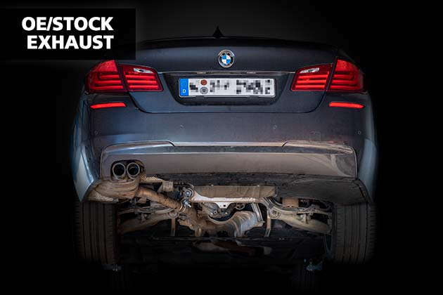 NAP Sportaupuff BMW 5er F10 1 OE