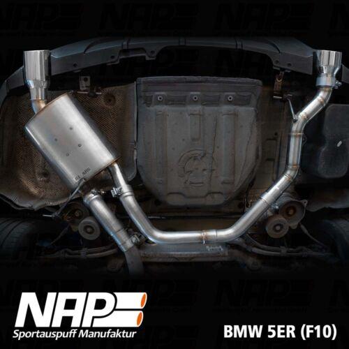 NAP Sportaupuff BMW 5er F10 2