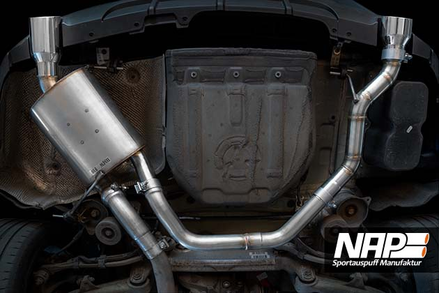 NAP Sportaupuff BMW 5er F10 2 NAP