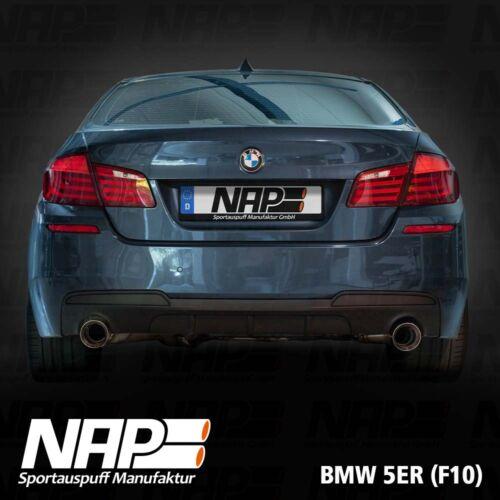 NAP Sportaupuff BMW 5er F10 3
