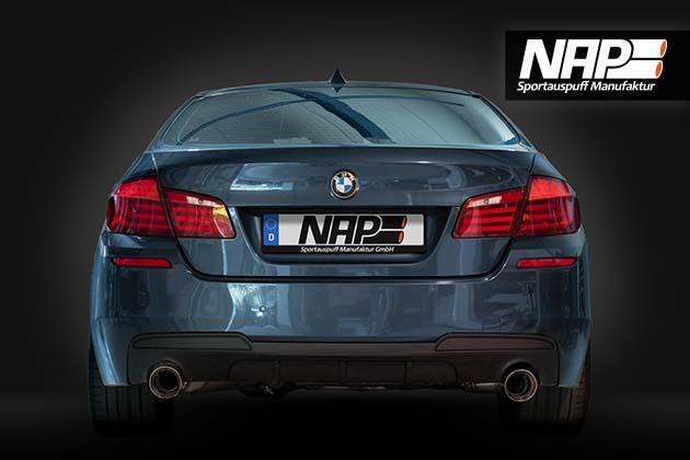 NAP Sportaupuff BMW 5er F10 3 NAP