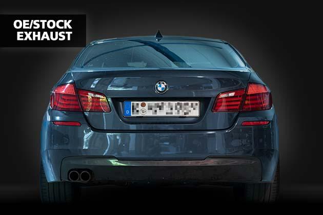 NAP Sportaupuff BMW 5er F10 3 OE