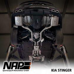 NAP Sportaupuff KIA Stinger u1