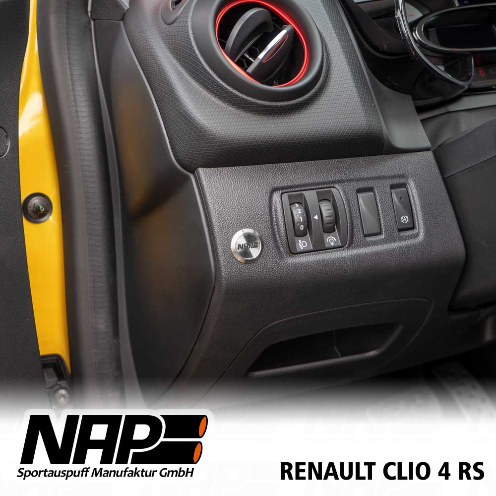Nap Klappenauspuff Renault Clio 4 R S Nap Sportauspuff Manufaktur