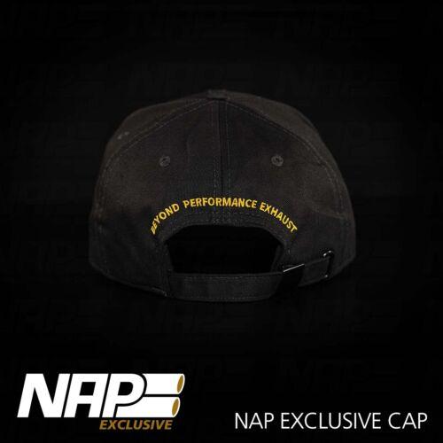 NAP Sportauspuff Exclusive CAP black 4