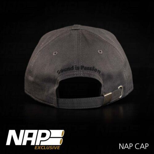 NAP Sportauspuff Exclusive CAP grey 10