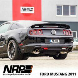 NAP Sportauspuff Ford Mustang2011 hinten3