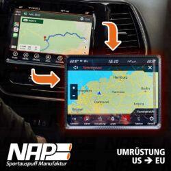 NAP Sportauspuff Homologation Umrüstung Deutsch Navi