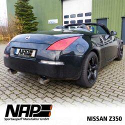 NAP Sportauspuff Nissan 350Z aussen1
