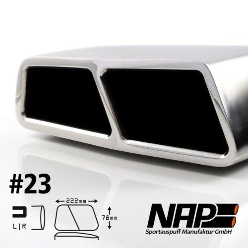 NAP Sportapuspuff Endrohr 23
