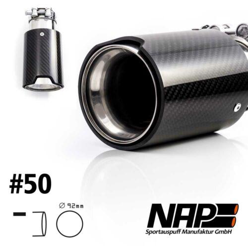 NAP Sportapuspuff Endrohr 50