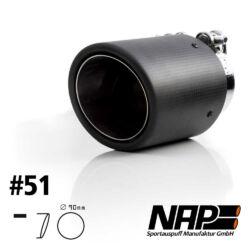 NAP Sportapuspuff Endrohr 51