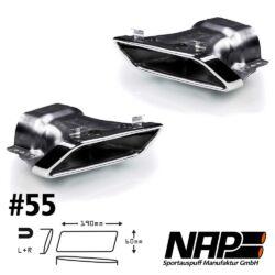 NAP Sportapuspuff Endrohr 55 1
